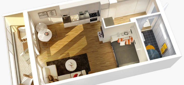 Стоит ли покупать квартиру студию?