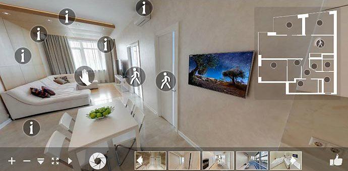 Виртуальный тур по квартире — новый тренд